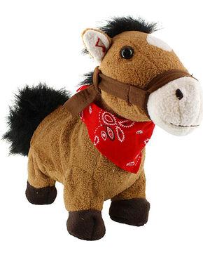 "Cuddle Barn Galloping ""Giddy Up, Lil Cowboy"" Plush Horse, Multi, hi-res"