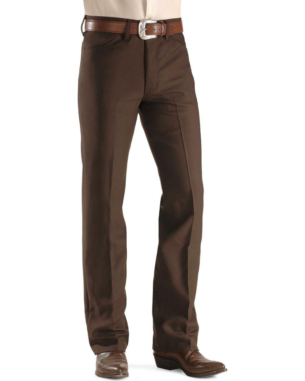 Wrangler Wrancher Dress Jeans, Brown, hi-res