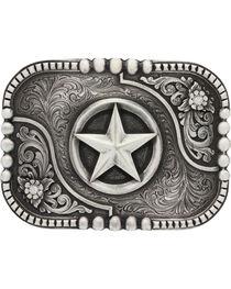 Montana Silversmiths Classic Impressions Lone Star Attitude Belt Buckle, , hi-res