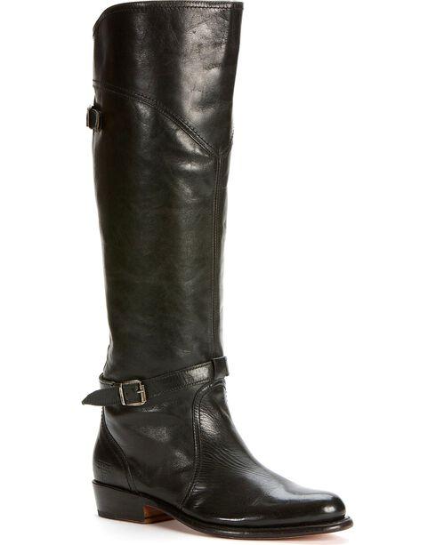 Frye Women's Dorado Riding Boots - Round Toe, Black, hi-res