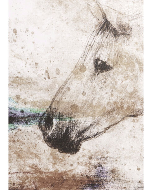 BB Ranch® Sketch Horse Wall Decor, No Color, hi-res