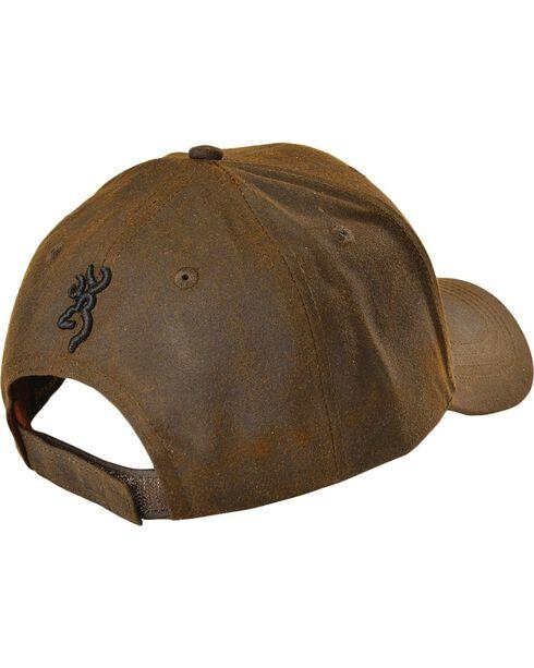 Browning Men's American Flag Ball Cap, Brown, hi-res