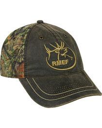 Rocky Mountain Elk Foundation Weathered Camo Cap , , hi-res