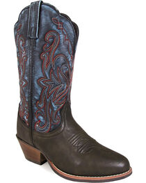 Smoky Mountain Women's Fusion #1 Western Boots - Round Toe , , hi-res