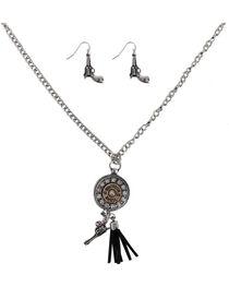 Shyanne® Women's Shotgun Shell Jewelry Set, , hi-res