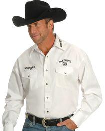 Jack Daniel's by Wrangler Men's Logo Long Sleeve Shirt, , hi-res