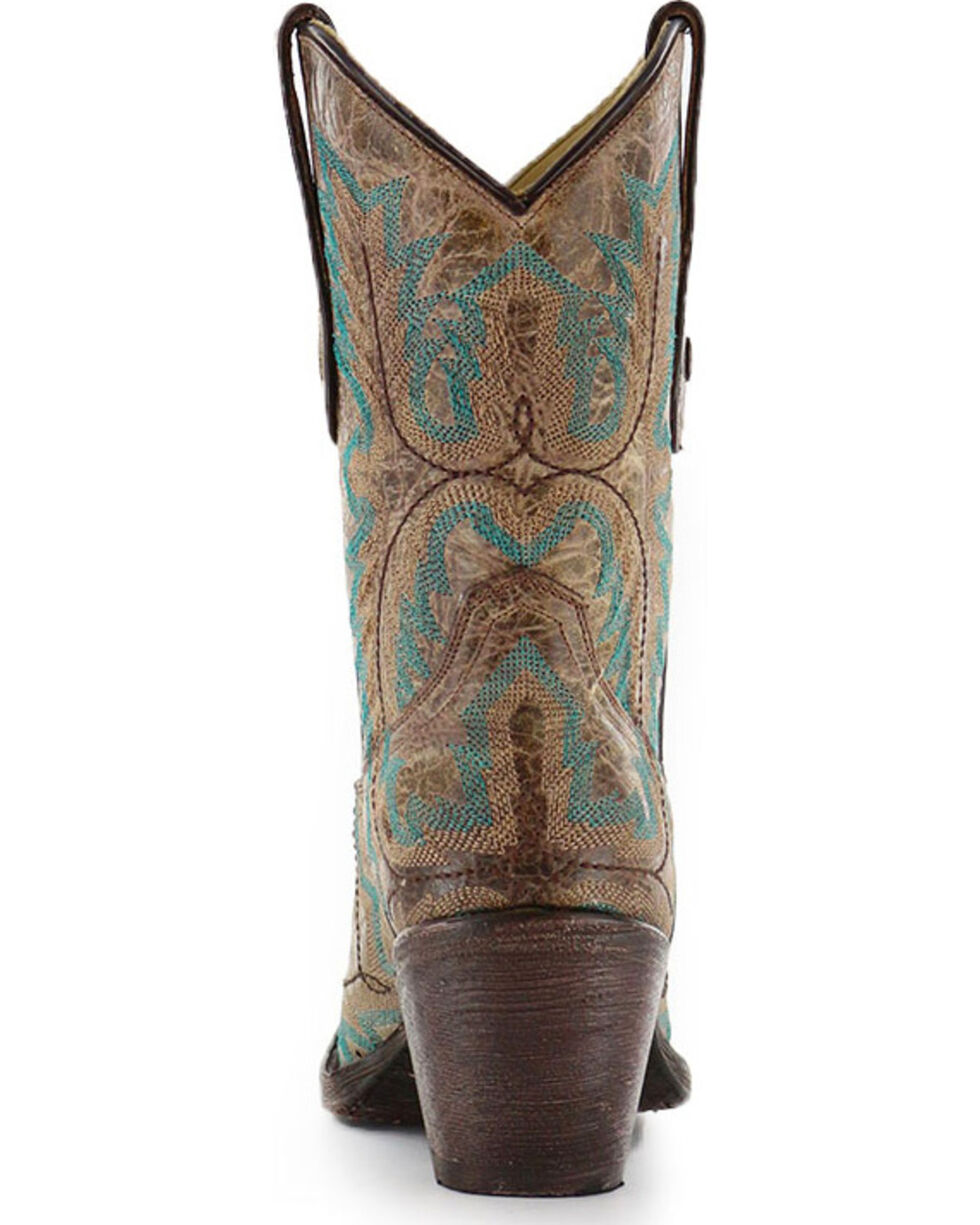 """Corral Women's 9"""" Stitched Fashion Western Boots, Brown, hi-res"""