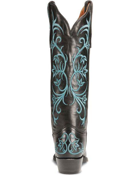 Tony Lama Women's Signature Western Boots, Black, hi-res