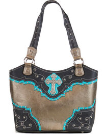 Trenditions Women's Caitlin Satchel, , hi-res