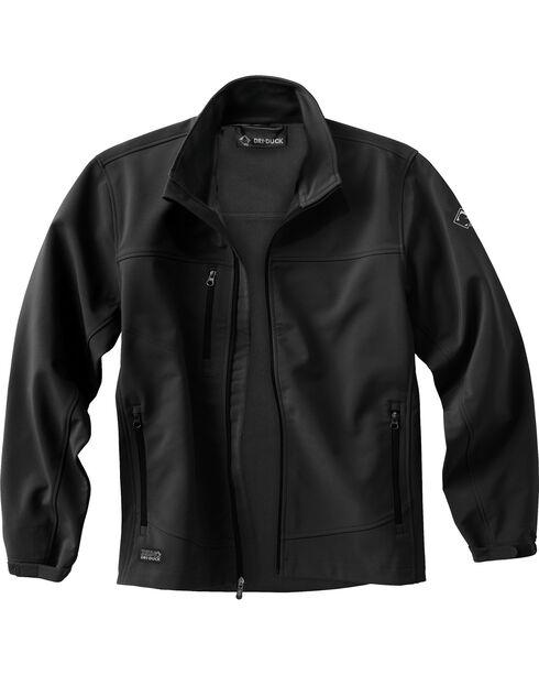 Dri Duck Men's Motion Softshell Jacket - Tall Sizes (XLT - 2XLT), Black, hi-res