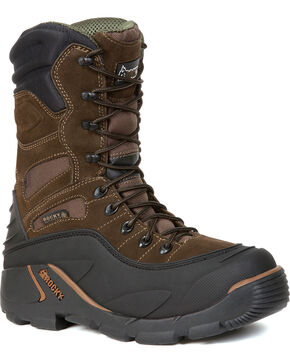 Rocky Men's Blizzard Stalker PRO Boots, Brown, hi-res