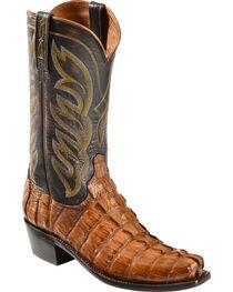 Lucchese Men's Exotic Hornback Caiman Landon Boots, , hi-res