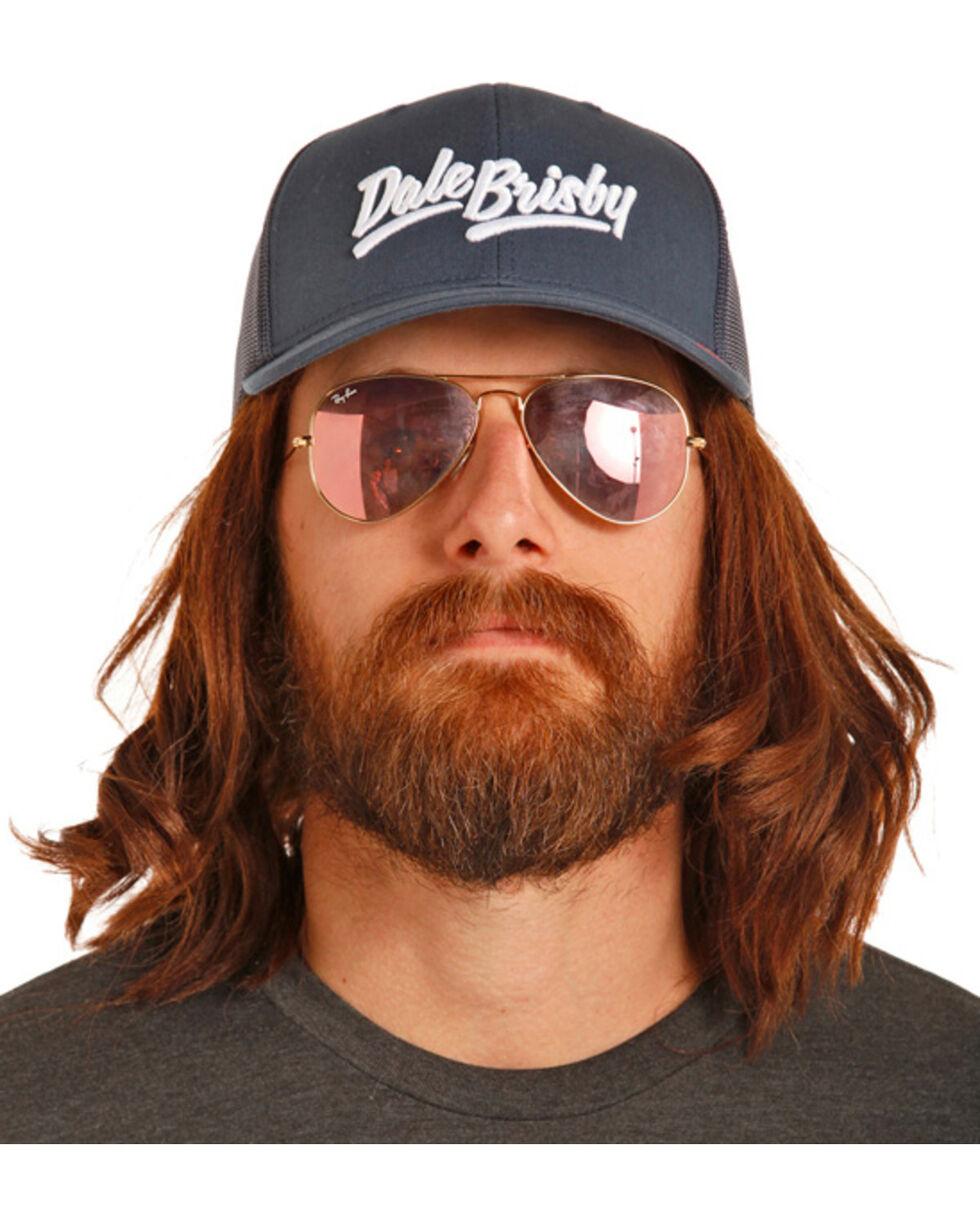 Dale Brisby Men's Navy Mesh Back Trucker Cap, Navy, hi-res