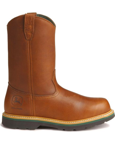John Deere® Men's Steel Toe Wellington Work Boots, , hi-res