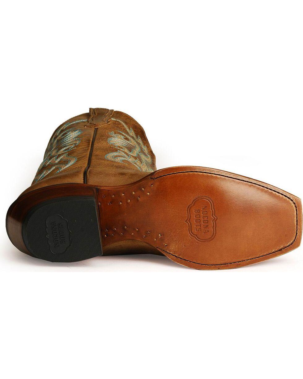 Nocona Women's Old West Western Boots, Tan, hi-res