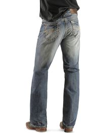 Rock & Roll Denim Men's Double Barrel Relaxed Boot Cut Jeans, , hi-res
