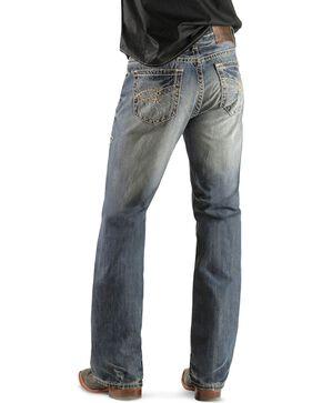 Rock & Roll Denim Men's Double Barrel Relaxed Boot Cut Jeans, Light Navy, hi-res