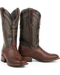 Stetson Men's Goat Vamp Western Boots, , hi-res