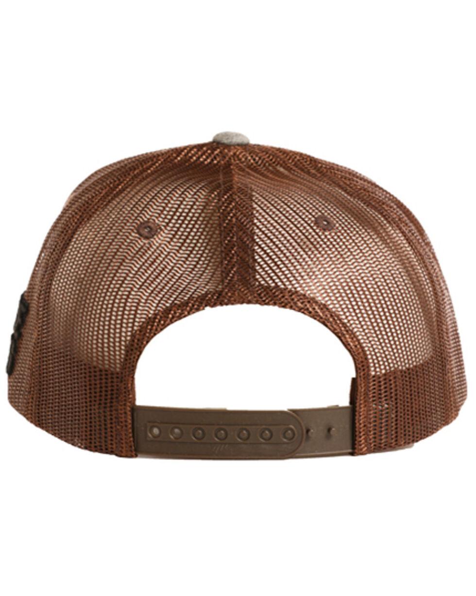 Panhandle Men's Patch Trucker Hat, Grey, hi-res