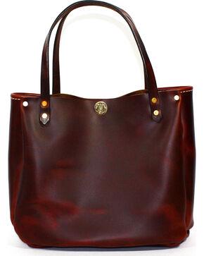 SouthLife Supply Women's Shiloh Brick Small Bucket Bag, Mahogany, hi-res
