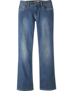 Mountain Khakis Women's Genevieve Boot Cut Jeans - Long, Blue, hi-res
