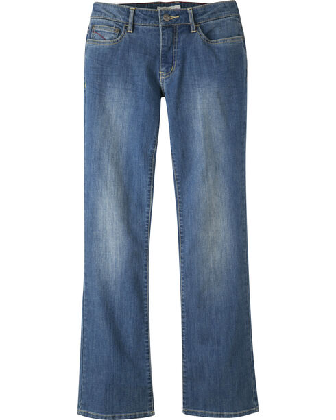 Mountain Khakis Women's Genevieve Bootcut Jeans - Long, Blue, hi-res