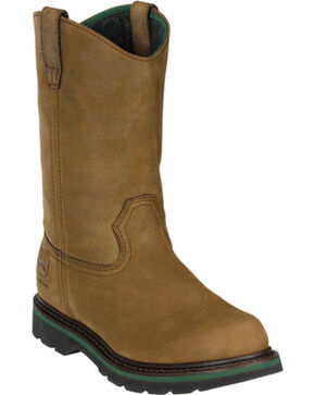 "John Deere® Men's 11"" Wellington Boots, Crazyhorse, hi-res"