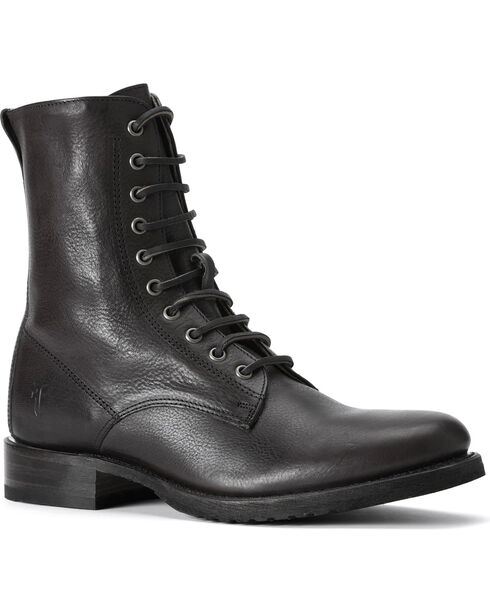 Frye Men's Rand Lace-up Boots - Round Toe, Black, hi-res