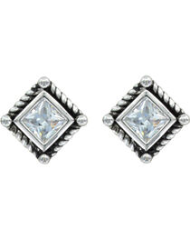 Montana Silversmiths Roped Starlight Earrings, , hi-res
