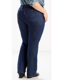 Levi's Women's 415 Classic Boot Cut Storm Rider Jeans - Plus Size, , hi-res