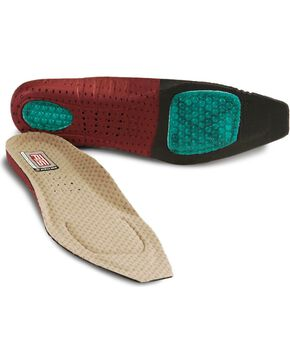 Ariat Women's Square Toe ATS Footbed Insoles, Multi, hi-res