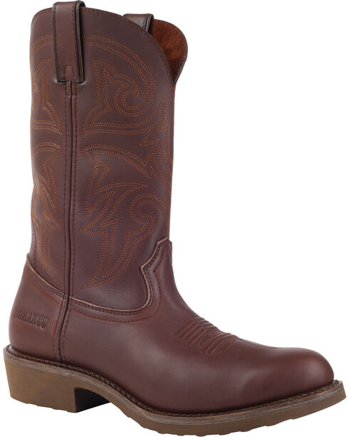 Durango Farm and Ranch Brown Western Boots - Round Toe, Brown, hi-res