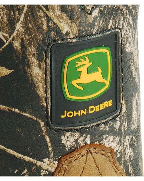 John Deere® Johnny Popper Children's Leather Wellington Western Boots, Crazyhorse, hi-res