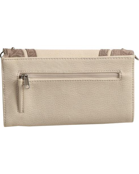 Shyanne® Women's Cross Wallet Crossbody, Ivory, hi-res