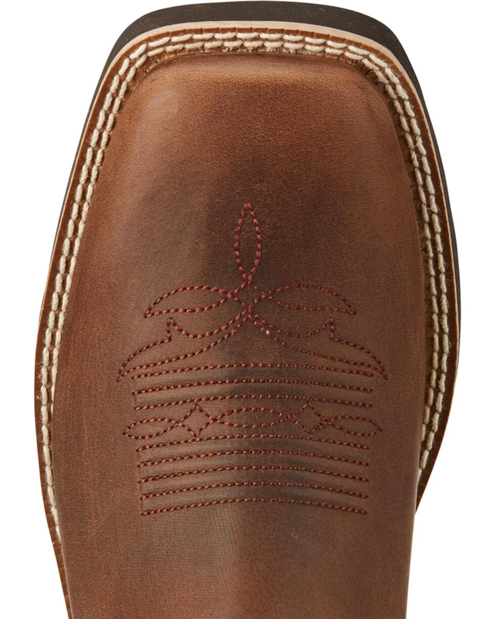 Ariat Women's Brown Shawnee Short Boots - Square Toe , , hi-res