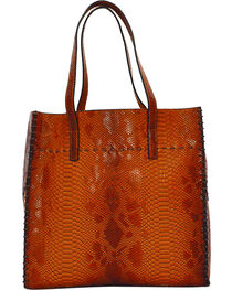 Tyler Rose Women's Alligator Print Tote , , hi-res