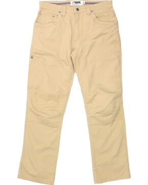 Mountain Khakis Men's Yellow Camber 107 Classic Fit Khakis - Straight Leg , Yellow, hi-res