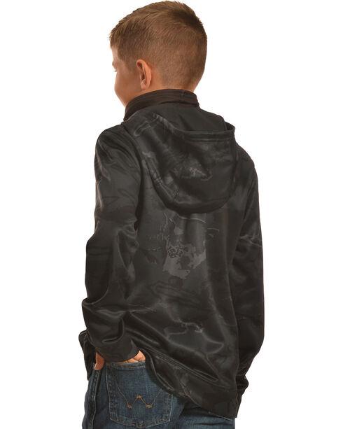 Under Armour Boys' Skull Mask Hooded Jacket, Black, hi-res