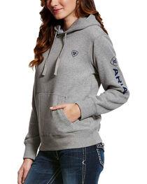Ariat Women's Grey Tek Logo Hoodie , , hi-res