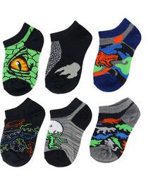Game Sport Boys' Dinosaur No Show Socks, , hi-res