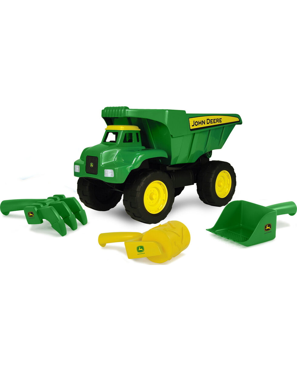 John Deere Kids' Big Scoop Dump Truck, Green, hi-res
