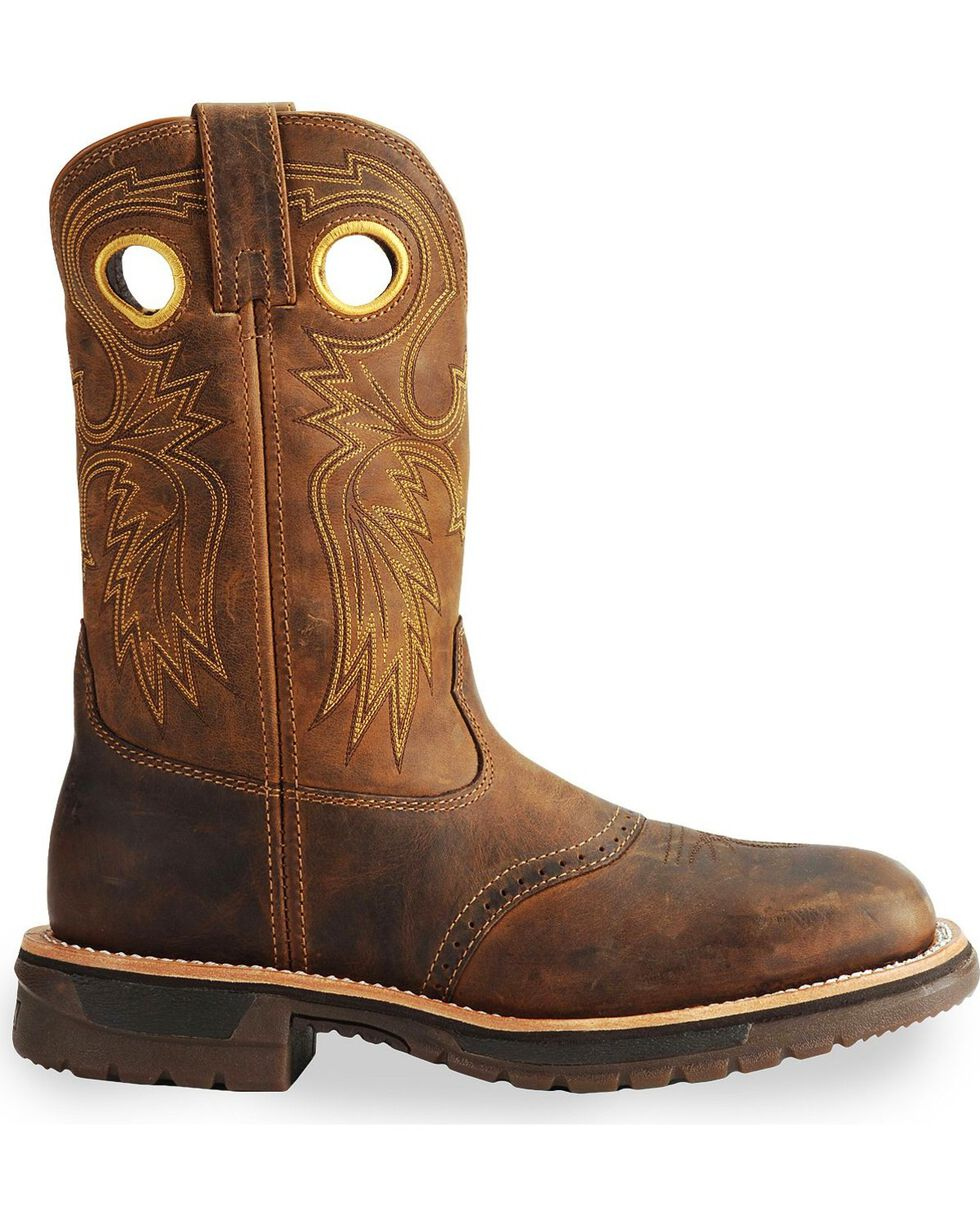 Rocky Men's Original Ride Western Boots, Brown, hi-res