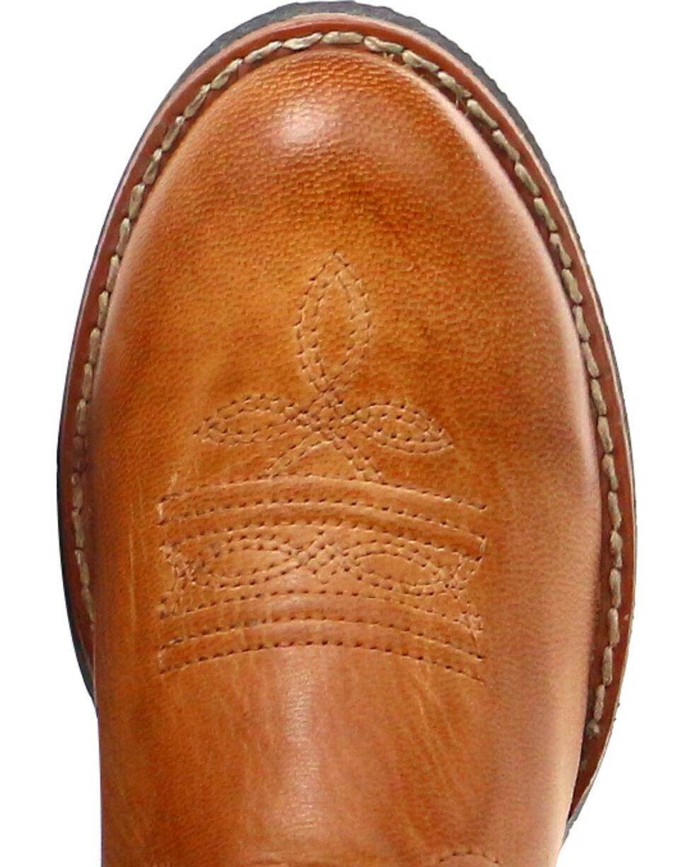 Cody James® Children's Showdown Round Toe Western Boots, Tan, hi-res