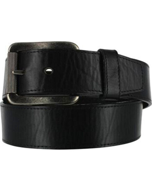 Justin Bent Rail Men's Brown Bomber Western Belt, Black, hi-res