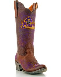 Gameday East Carolina State University Cowgirl Boots - Pointed Toe, , hi-res