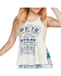 Shyanne® Women's Ain't My First Rodeo Graphic Tank, , hi-res