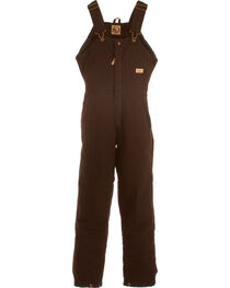 Berne Women's Washed Insulated Bib Overalls - Short, , hi-res