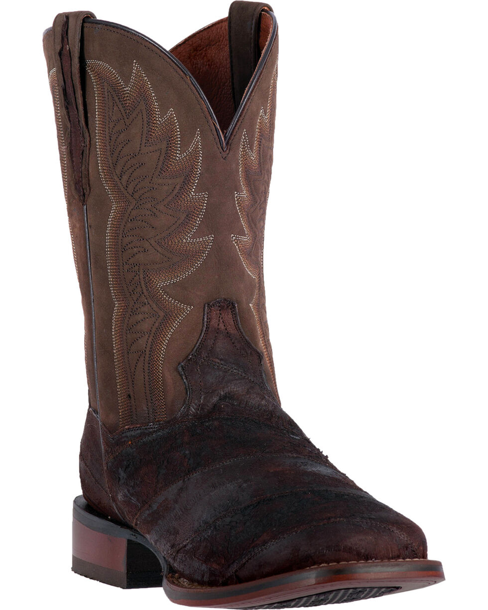 Dan Post Men's Cade Cowboy Certified Western Boots, Chocolate, hi-res