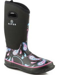Roper Women's Paisley Waterproof Boots, , hi-res