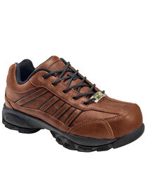 Nautilus Men's Steel Toe ESD Lace Up Work Shoes, , hi-res